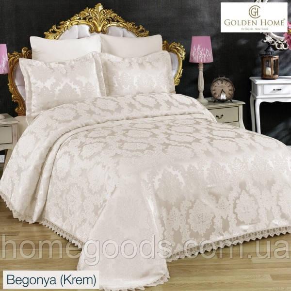 Набор постельного белья с покрывалом Люкс качества