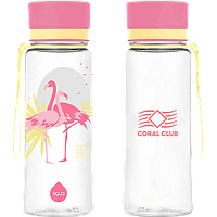 EQUA пластиковая бутылка «Фламинго», 600 мл - бутылка