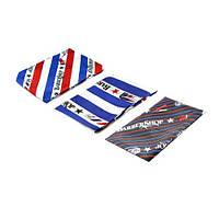 Пеньюар Barber полосы (синий/белый/красный/черный)