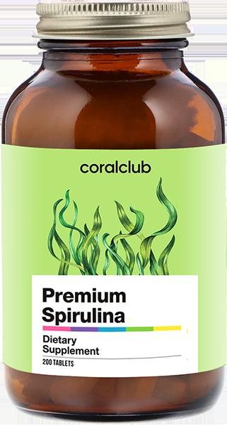 Премиум Спирулина - 200 таблеток