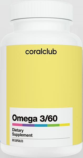 Омега 3/60 - 30 капсул