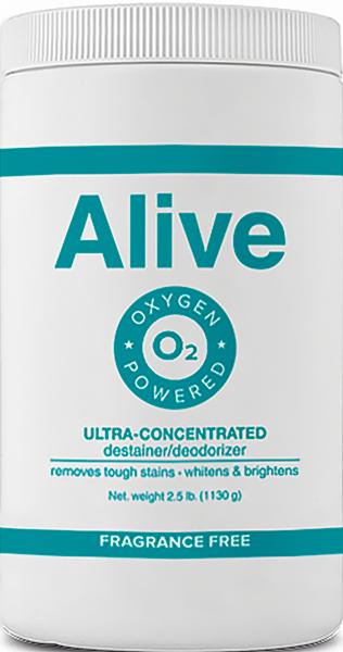 Alive Концентрированное средство для отбеливания и удаления стойких загрязнений - 1130 г