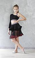 Комплект юбка + топ для танцев sevenstore