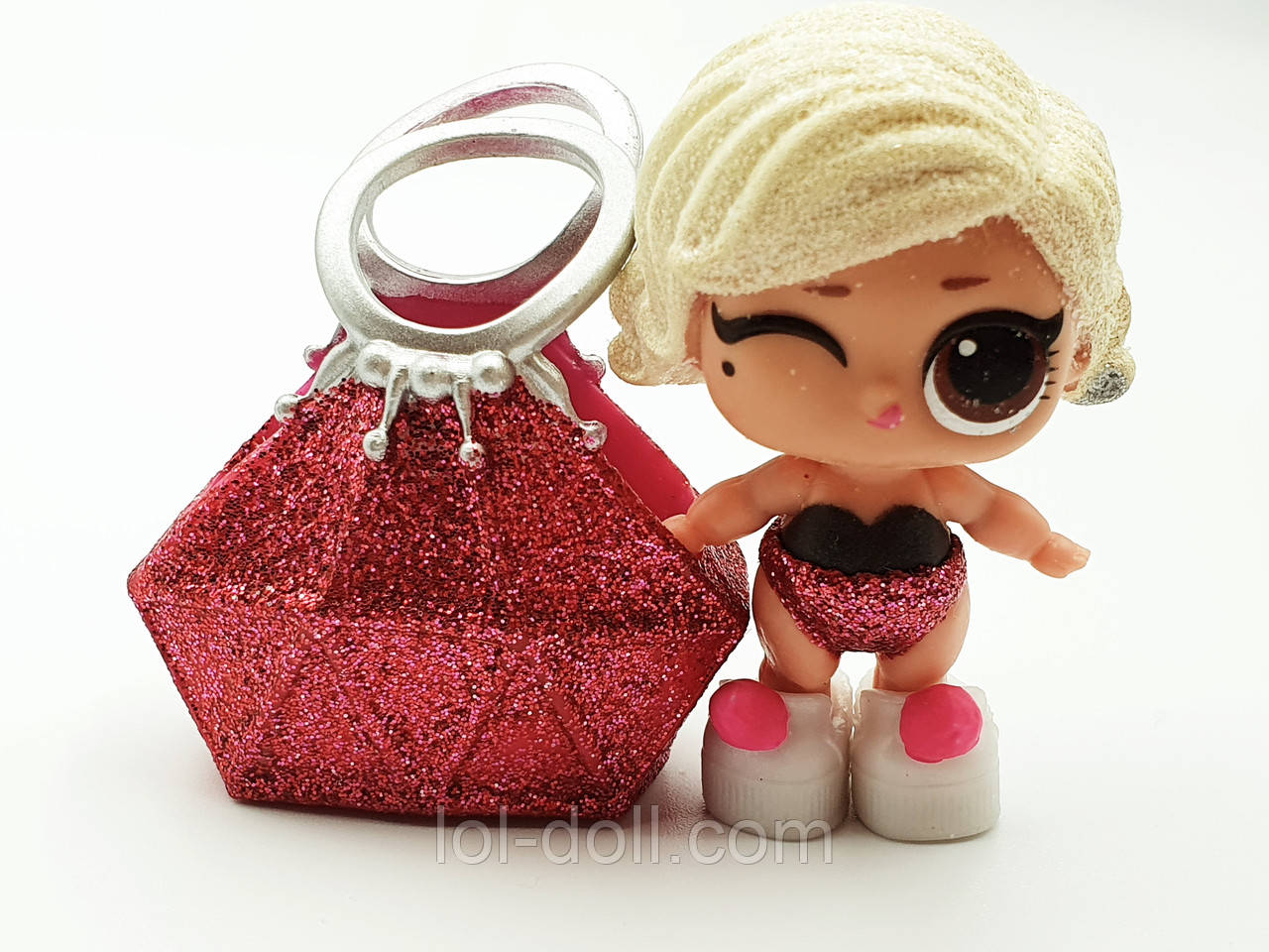 Кукла LOL Surprise Winter Disco Lil`s Lil Glamour Queen - Мадонна Лол Сюрприз Без Шара Оригинал
