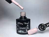 Гель-лак для ногтей пастельно-нежно-бежевый