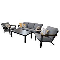 Комплект мягкой мебели Lilis/1010 с диваном, журнальным столиком и двумя креслами