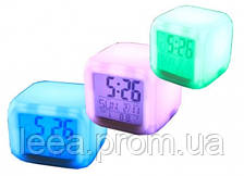Часы с термометром меняющие цвет SKL25-145965