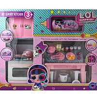 Игровой набор Лол кухня Lol капсула Lol My Luxury kitchen аналог РТ 3040Вдет