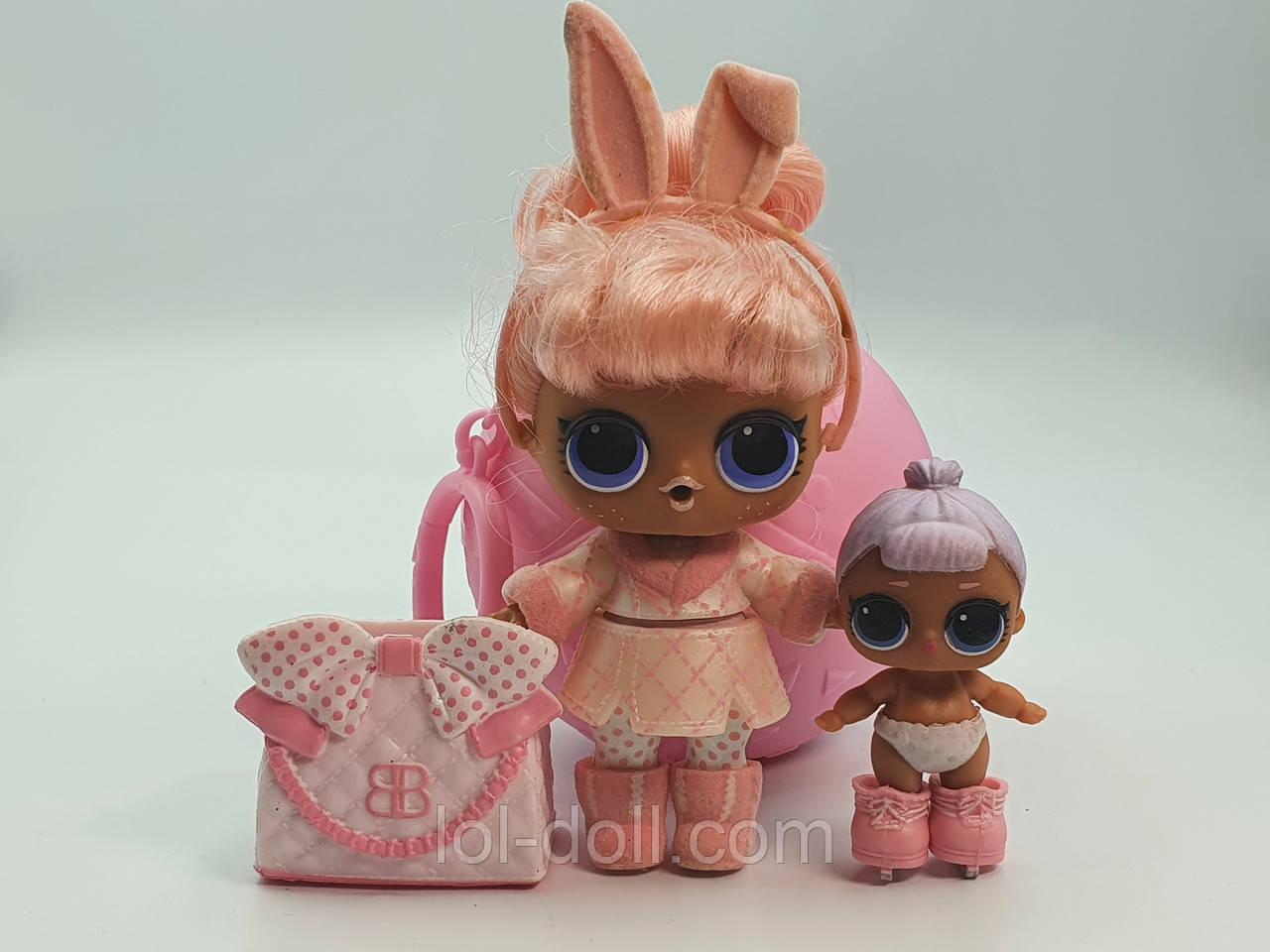 Семья Кукла LOL Surprise 5 Серия Hairgoals Snow Bunny - Зайчик Under Wraps Лол Сюрприз Оригинал