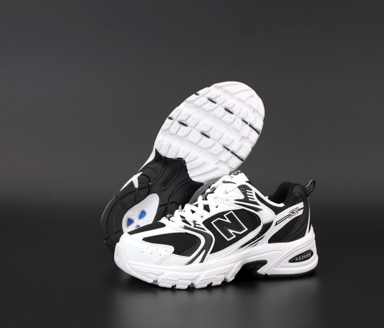 Женские кроссовки New Balance NB 530 31868 черно-белые