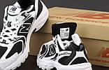 Женские кроссовки New Balance NB 530 31868 черно-белые, фото 7