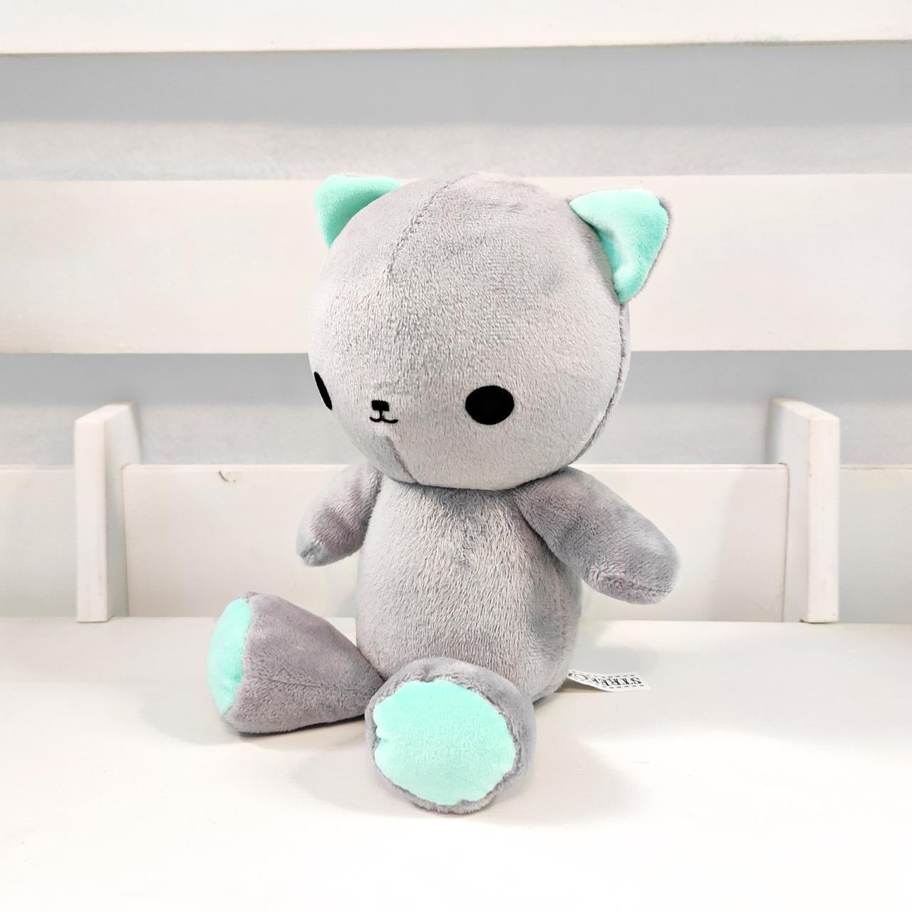 Мягкая игрушка Strekoza котенок Малыш Айси 21см серый
