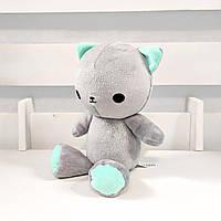 Мягкая игрушка Strekoza котенок Малыш Айси 21см серый, фото 1