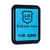 Защитная пленка Apple Watch 42mm Polymer Nano Film (Black) - 3D Full Glue