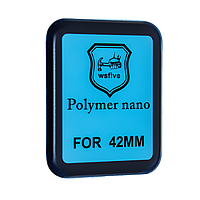 Защитная пленка Apple Watch 42mm Polymer Nano Film (Black) - 3D Full Glue, фото 1