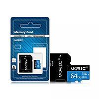 Карта памяти. Флешка MicroSD 64 ГБ MicroSDHC, фото 1