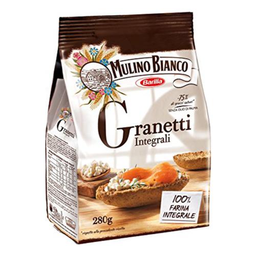 Сухари Granetti Integrali 280г Mulino Bianco Barilla