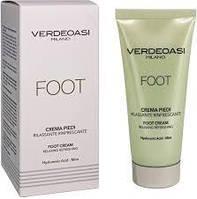 Verdeoasi Foot cream relaxing refreshing  Расслабляющий и освежающий крем для ног, 100 мл
