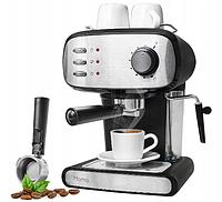 Кофеварка 15 БАР капучино 850 Вт давление, фото 1