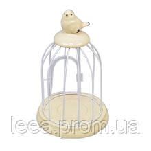 Подсвечник-клетка Птичка SKL11-209784