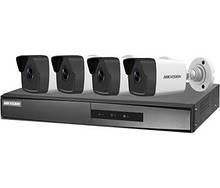 PoE Комплект видеонаблюдения Hikvision