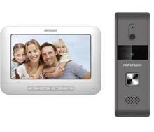 Комплект домофон + вызывная панель Hikvision