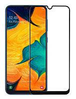 Защитное стекло для Samsung A30s / M30s / A30 / A50 Полноэкранное (Захисне скло на Самсунг)