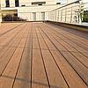 Террасная доска Bruggan Multicolor полнотелая из двухслойного композитного материала 25 х 140 х 2200 мм, фото 3