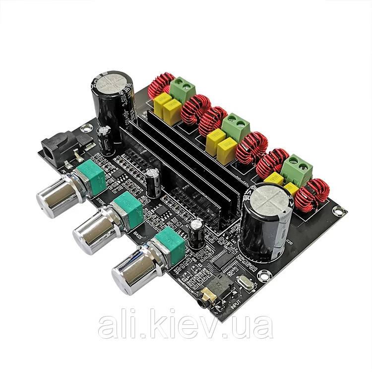 Підсилювач звуку 2* 80 Вт /100 Вт Bluetooth 5.0  2.1-канальний аудіо стерео еквалайзер Class D