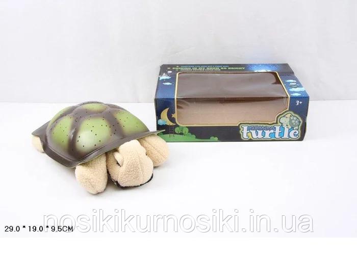 Дитячий нічник-проектор черепаха, проектор зоряного неба