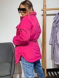 Женская зимняя куртка удлиненная под пояс, с нагрудными карманами (р. 42-48) vN10884, фото 5