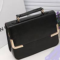 Стильная Модная женская сумочка, черная, фабричная