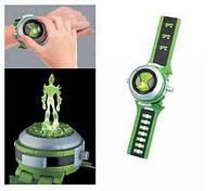 Проекционные часы Бен 10 со звуком и светом - Ben10 Omnitrix Projector бен тен