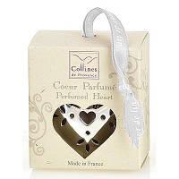 """Ароматизатор воздуха в форме сердца """"Льняной цветок"""" Collines de Provence"""