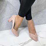 Женские туфли с острым носком 13606, фото 2