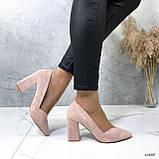 Женские туфли с острым носком 13606, фото 3