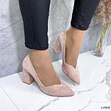 Женские туфли с острым носком 13606, фото 4
