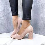 Женские туфли с острым носком 13606, фото 8