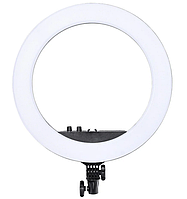 Лампа кольцевая светодиодная HQ18 7356