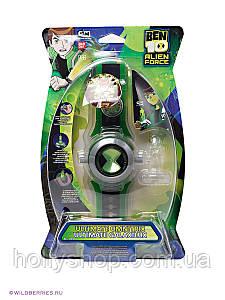 Годинник Бен 10 проекційні зі звуком і світлом - Ben10 Omnitrix Projector бен тен