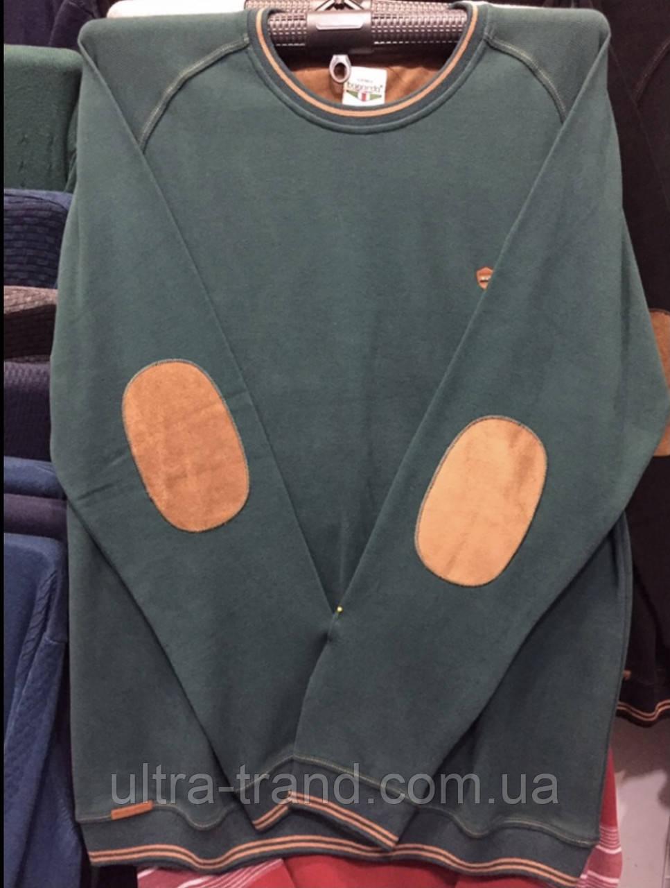 Мужской турецкий свитер свитшот пайта большого размера