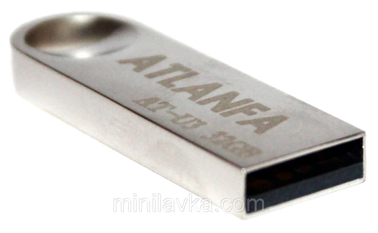 Флешка с отверстием для ключей 32Gb 2.0 ATLANFA AT-U3 USB флеш накопитель