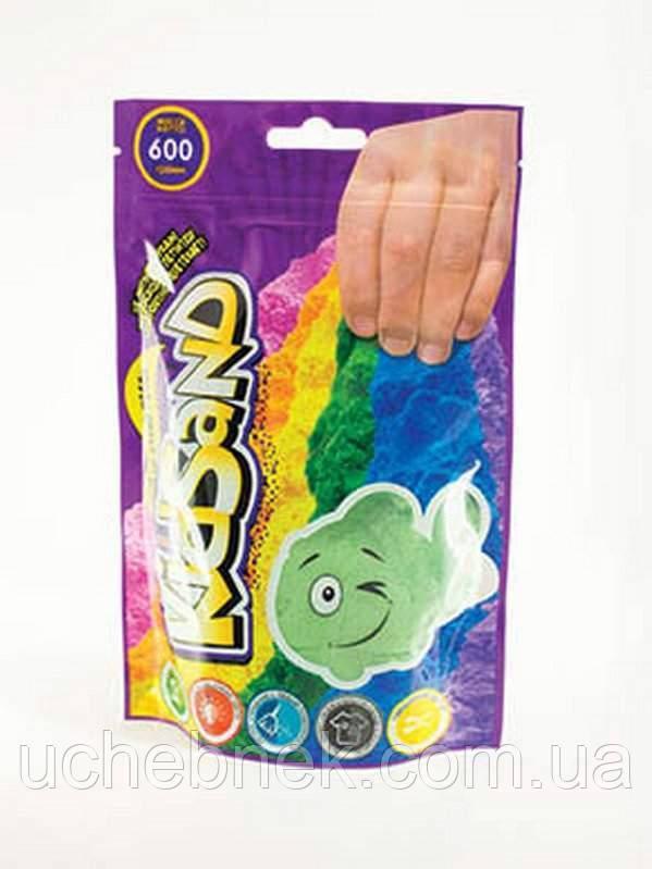 Набір креативної творчості Кінетичний пісок KidSand пакет 600г Danko Toys