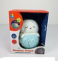 Детский музыкальный ночник проектор Пингвинчик, проектор звездного неба, фото 2