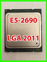 Процессор Intel Xeon E5-2690 LGA 2011 (SR0HA,SR0L0) 8 ядер 16 потоков 2,90-3,80 Ghz / 20M / 8GT/s SandyBridge