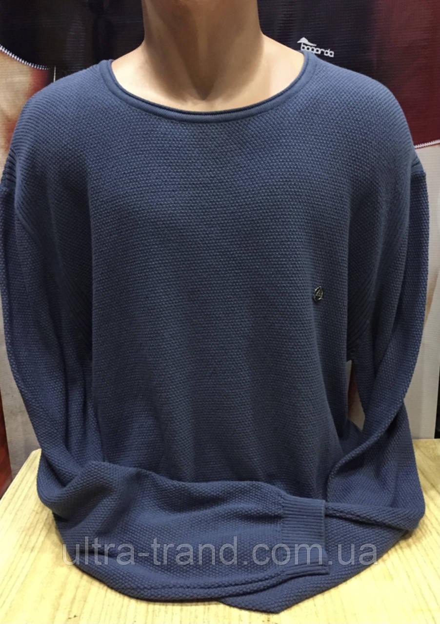 Стильный мужской свитер больших размеров турецкая реплика