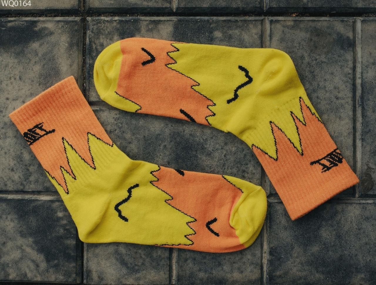 Носки Staff yellow & orange