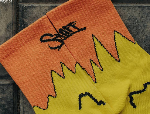 Носки Staff yellow & orange, фото 2