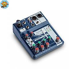 Микшерный пульт Soundcraft Notepad-5 1+2