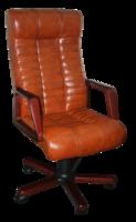 Кресло Атлантис Экстра комбинированная кожа Люкс